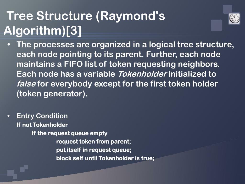 Tree Structure (Raymond's Algorithm)[3]