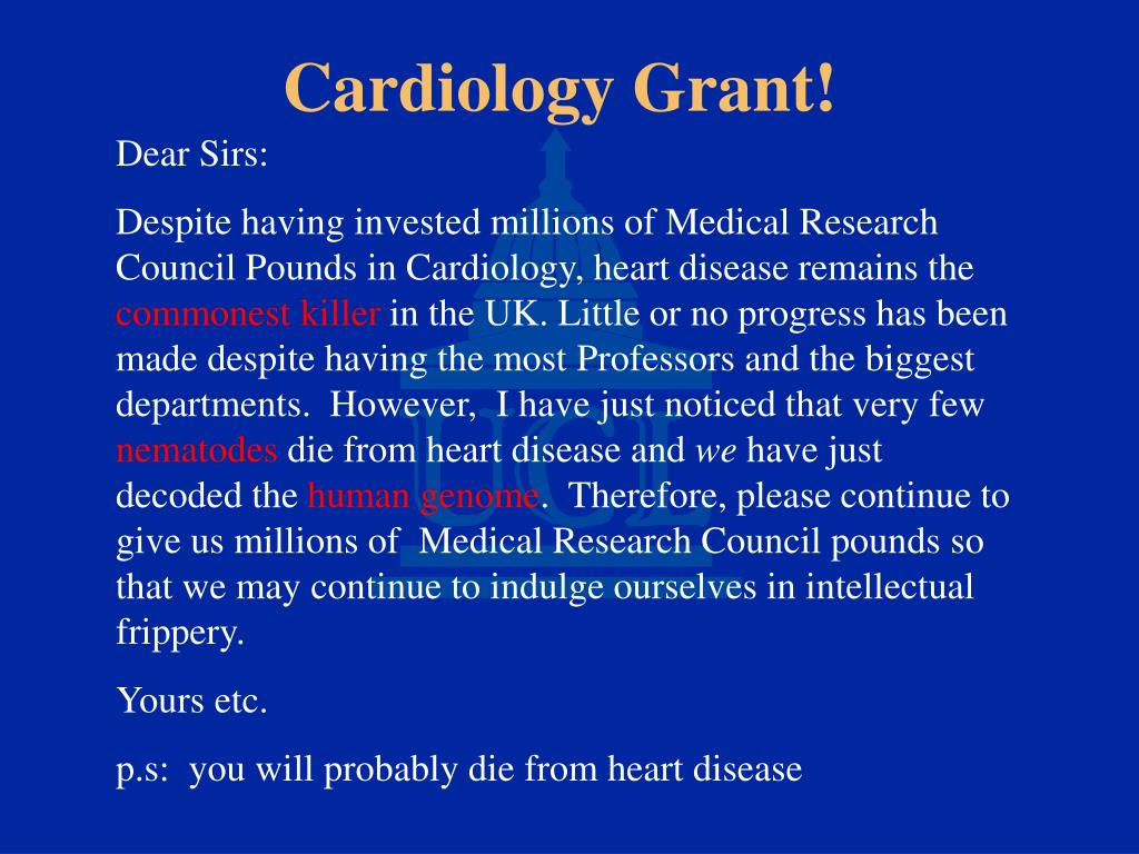 Cardiology Grant!