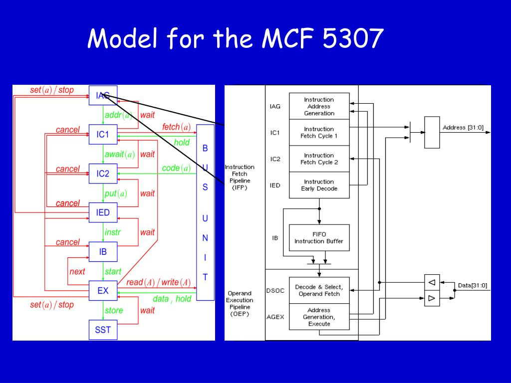 Model for the MCF 5307