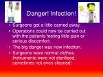 danger infection