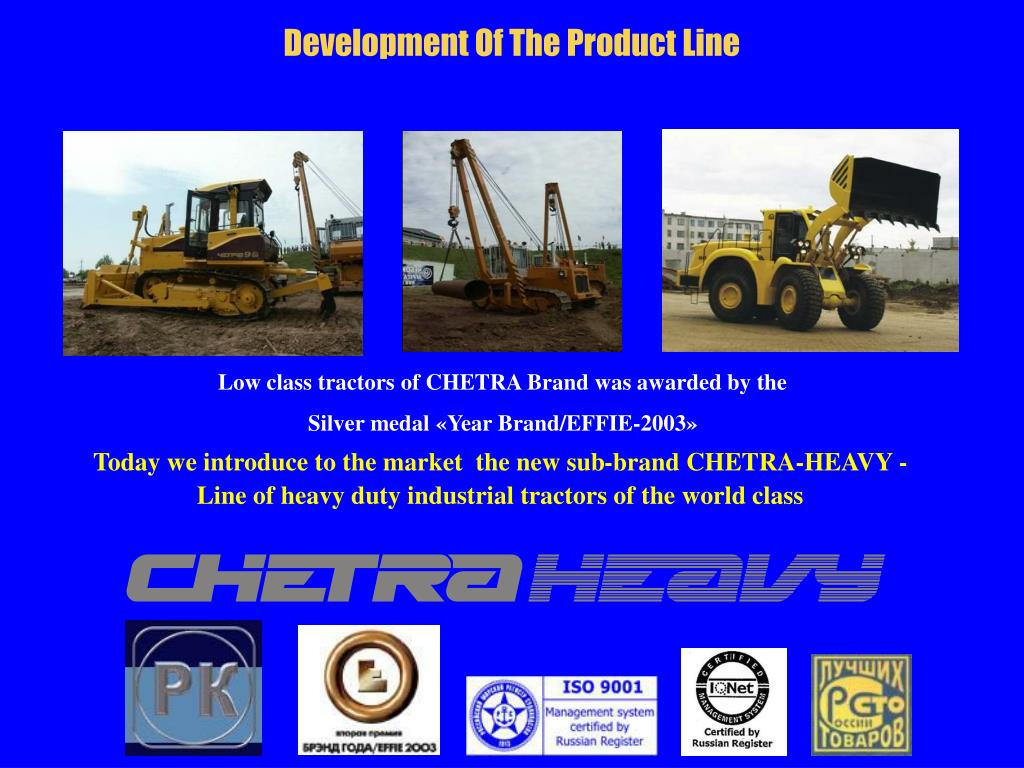 Development Of The Product Line