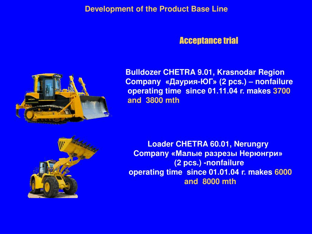 Development of the Product Base Line
