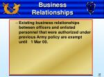 business relationships37