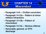 chapter 14 misconduct