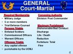 general court martial