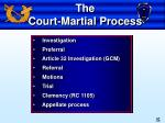the court martial process