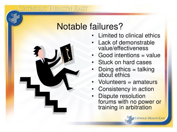Notable failures?
