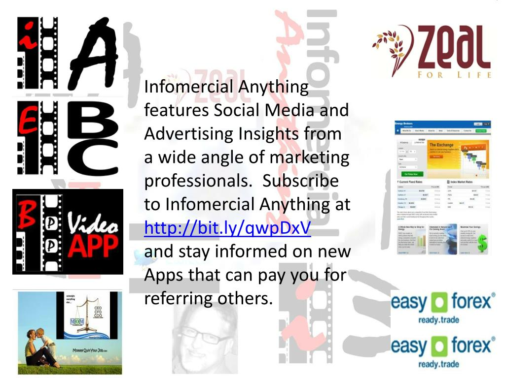 Infomercial Anything features Social Media and Advertising Insights from