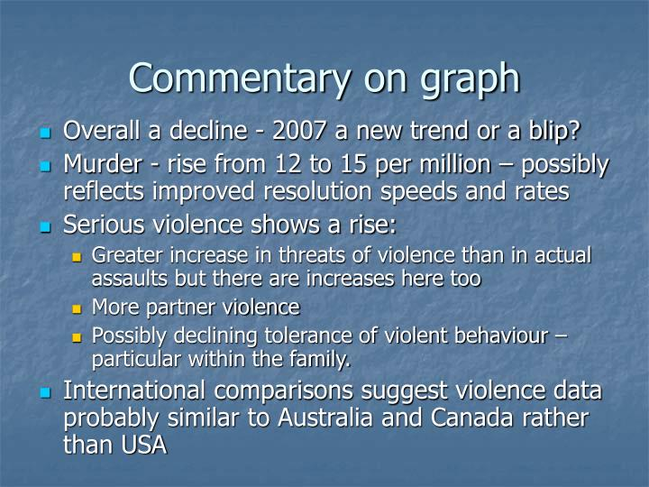 Commentary on graph