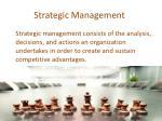 strategic management16