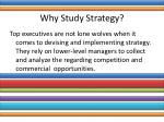 why study strategy