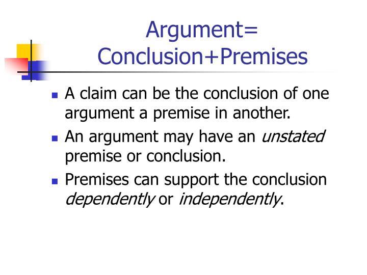 Argument=