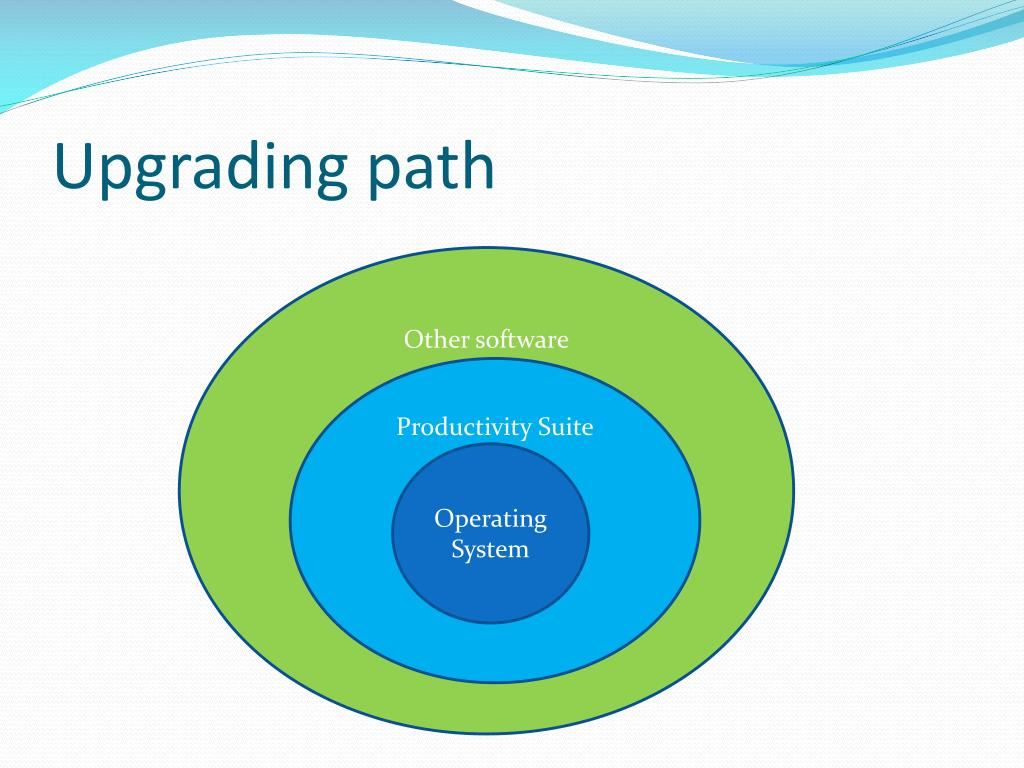 Upgrading path