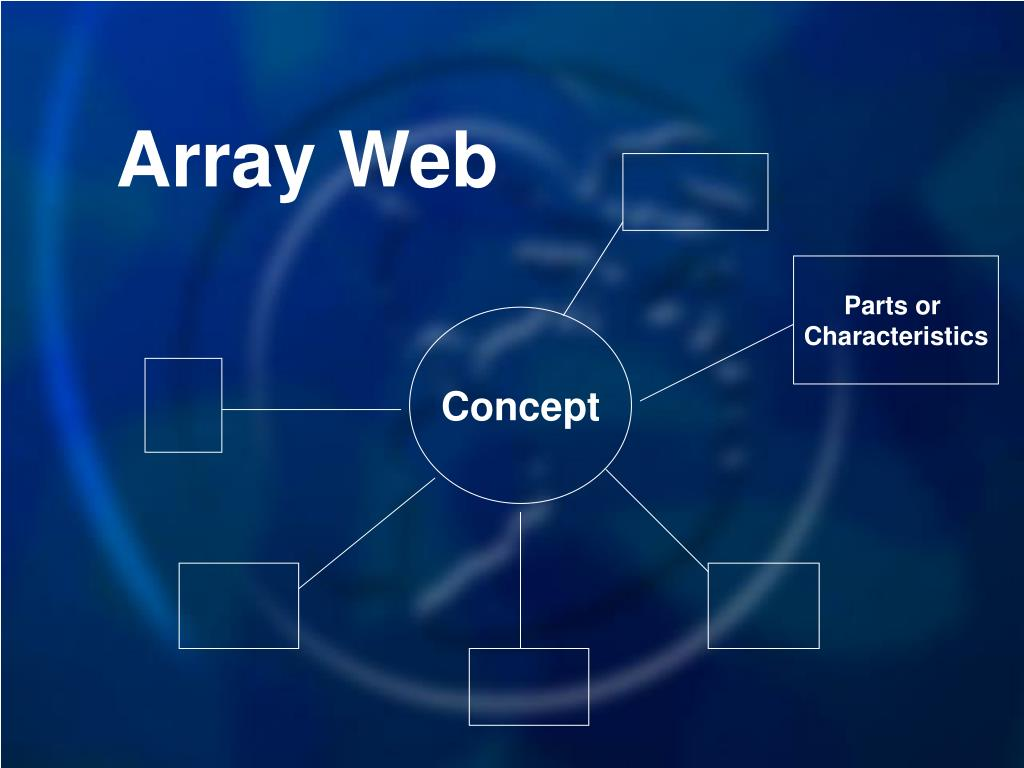 Array Web