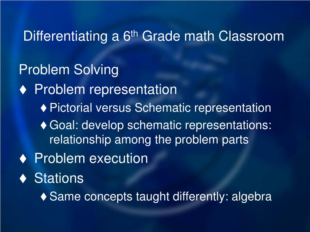 Differentiating a 6