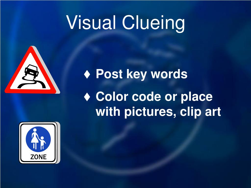 Visual Clueing