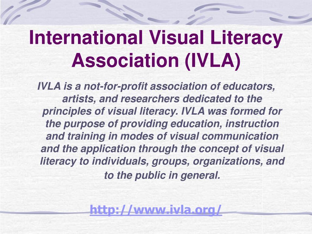 International Visual Literacy Association (IVLA)