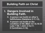 building faith on christ1