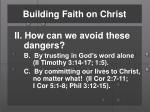 building faith on christ4