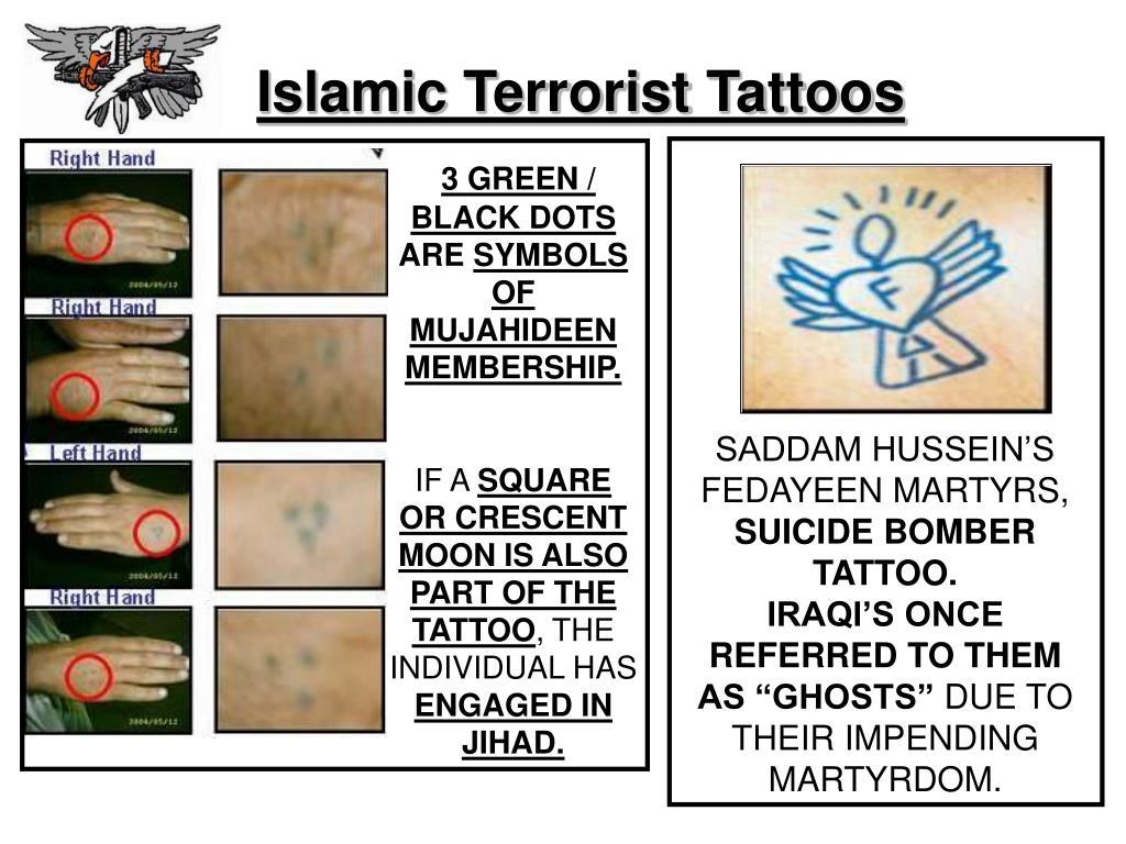 Islamic Terrorist Tattoos