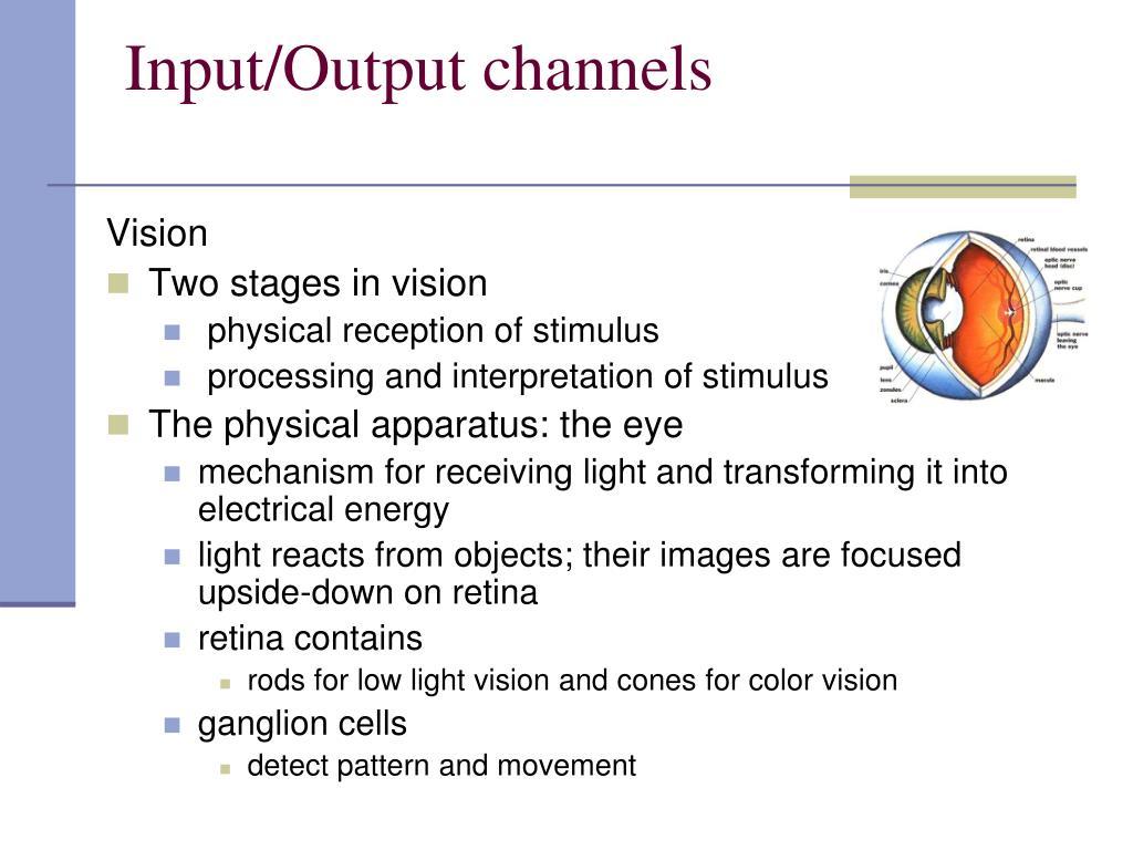 Input/Output channels