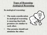 types of reasoning analogical reasoning10