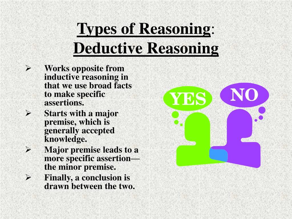 Types of Reasoning