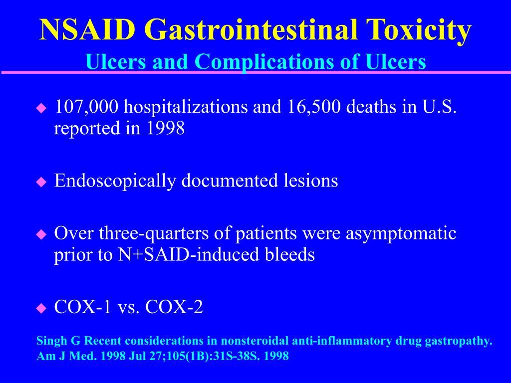 NSAID Gastrointestinal Toxicity