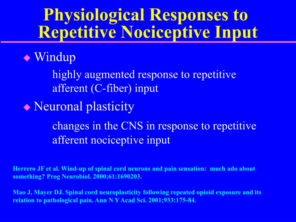 Physiological Responses to