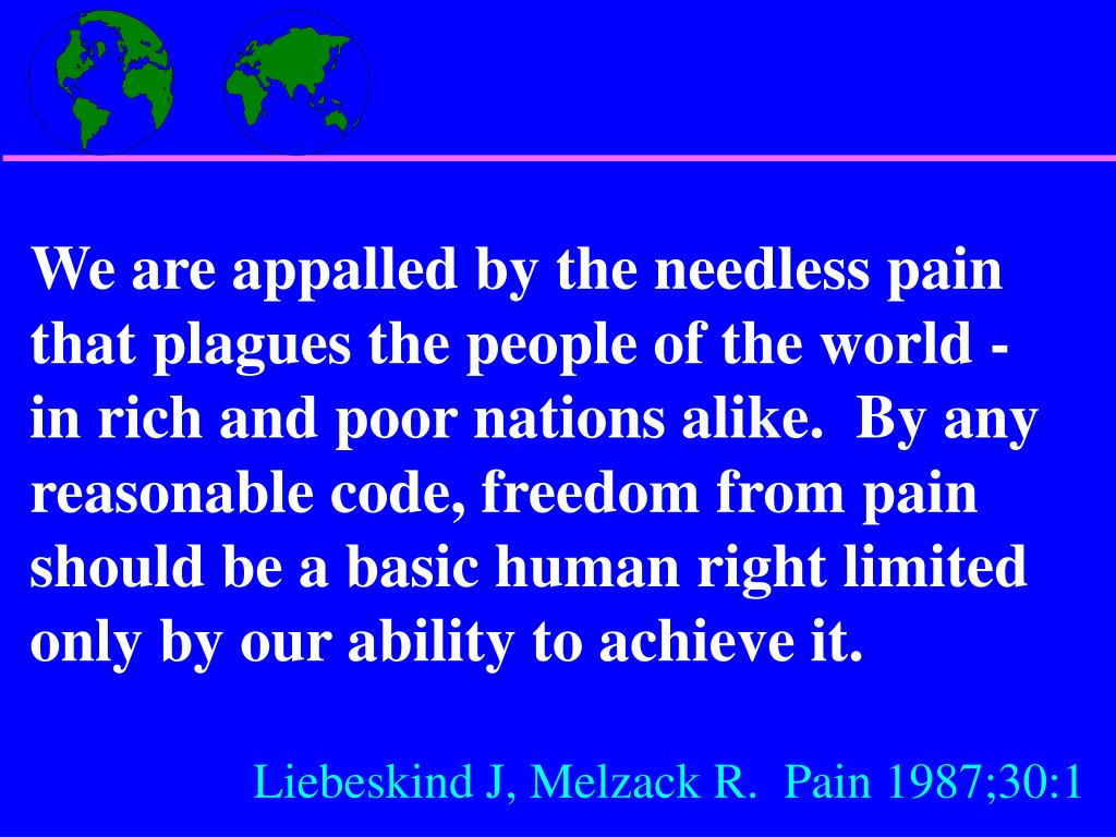 We are appalled by the needless pain