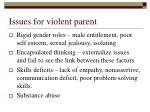 issues for violent parent6