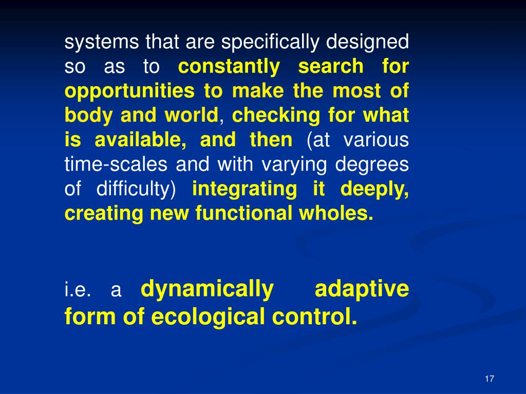 systems that are specifically designed so as to