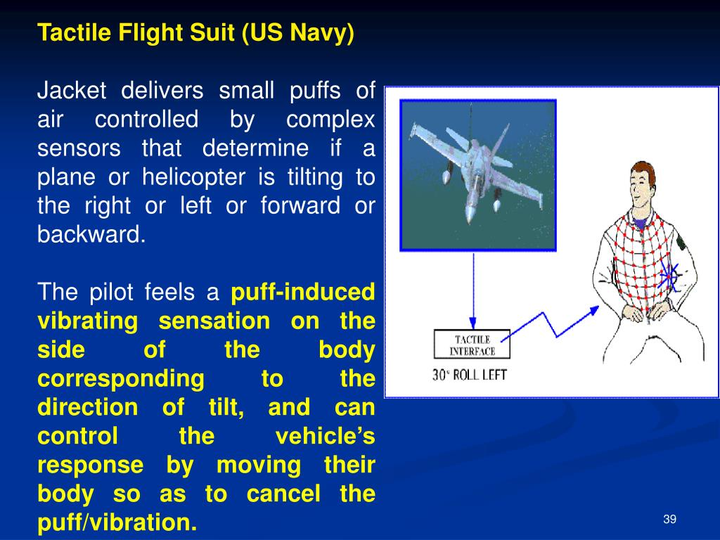 Tactile Flight Suit (US Navy)