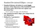 standard deviational ellipse concept
