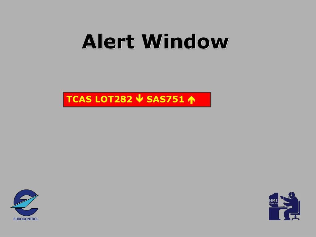 Alert Window