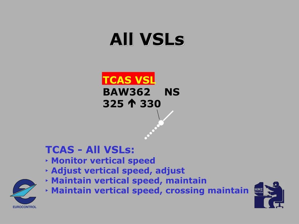 All VSLs