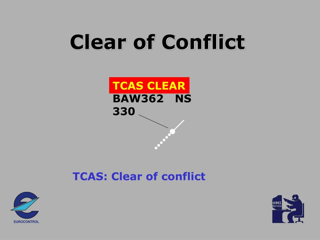 Clear of Conflict