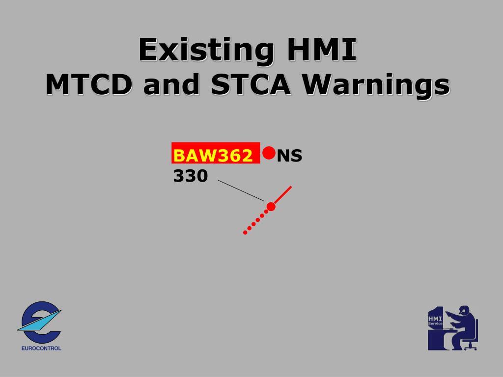 Existing HMI