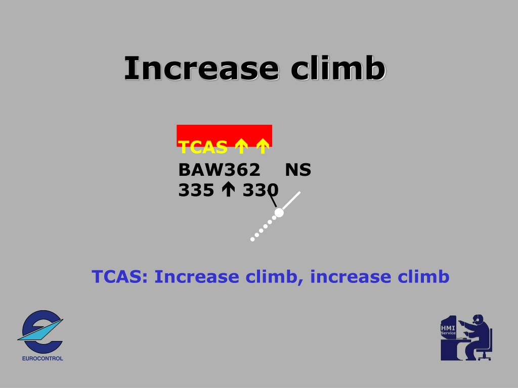 Increase climb
