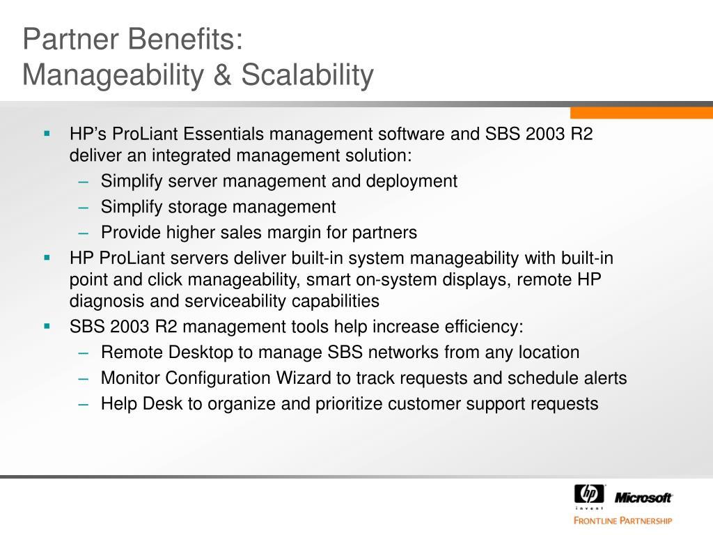 Partner Benefits: