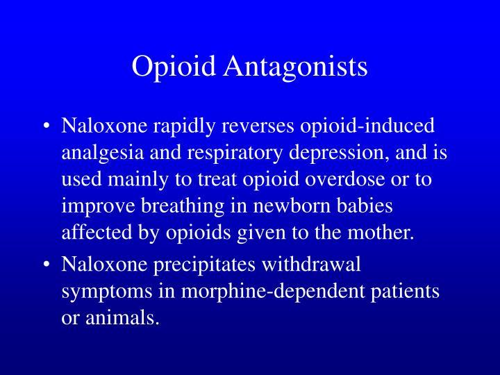 Opioid Antagonists
