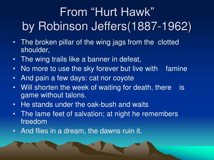 analysis of tractor by ted hughes On the contrary, ted hughes and robinson jeffers convey different ideas about hawks in their poems the poem 'the jaguar' written by ted hughes describes the lifestyles of animals at a zoo and their different attitudes to living in a cage.