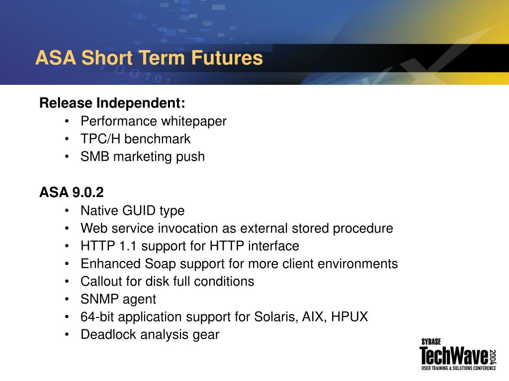 ASA Short Term Futures