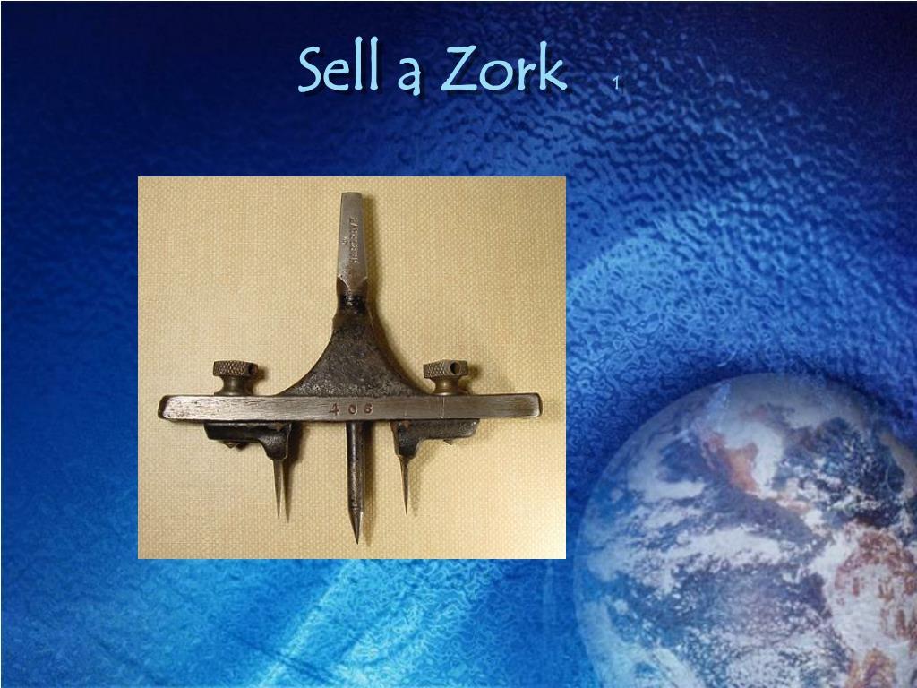 Sell a Zork