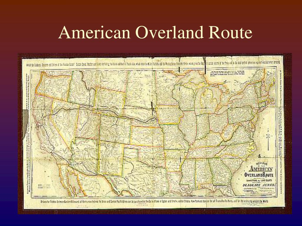 American Overland Route