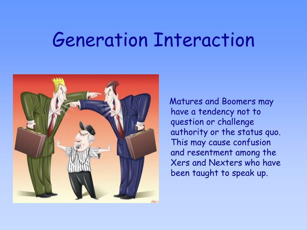 Generation Interaction