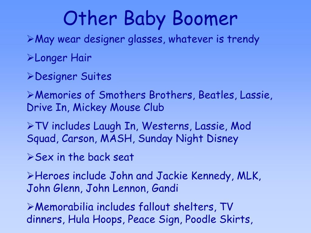 Other Baby Boomer