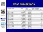 dose simulations38