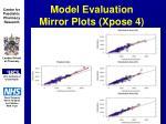 model evaluation mirror plots xpose 431
