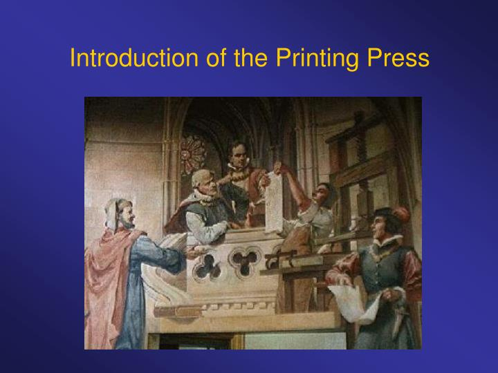 An introduction to the comparison of print and press